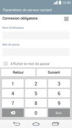 LG G3 - E-mail - configuration manuelle - Étape 14