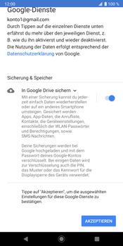 Sony Xperia XZ3 - E-Mail - Konto einrichten (gmail) - Schritt 12