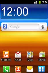 Samsung S5690 Galaxy Xcover - wifi - handmatig instellen - stap 1