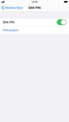 Apple iPhone 6s - iOS 13 - Startanleitung - So aktivieren Sie eine SIM-PIN - Schritt 8