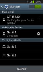 Samsung Galaxy Express - Bluetooth - Verbinden von Geräten - Schritt 8