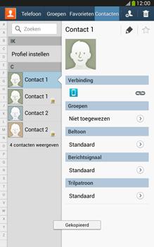 Samsung T315 Galaxy Tab 3 8-0 LTE - Contacten en data - Contacten kopiëren van toestel naar SIM - Stap 10