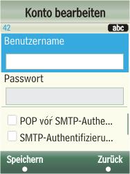 Samsung F480-TouchWiz - E-Mail - Konto einrichten - Schritt 18