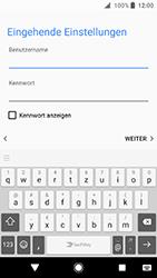 Sony Xperia XA2 - E-Mail - Konto einrichten - 1 / 1