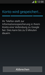 Samsung S7275 Galaxy Ace 3 - Apps - Konto anlegen und einrichten - Schritt 21