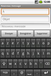Samsung I7500 Galaxy - E-mail - Envoi d
