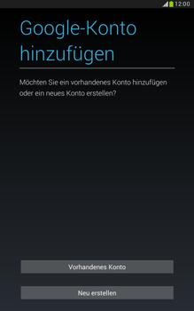 Samsung N5100 Galaxy Note 8-0 - Apps - Konto anlegen und einrichten - Schritt 4