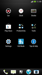 HTC One Mini - Applications - Setting up the application store - Step 3