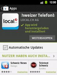 Samsung Galaxy Y - Apps - Installieren von Apps - Schritt 9