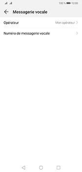 Huawei Mate 20 - Messagerie vocale - configuration manuelle - Étape 8