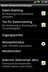 HTC Wildfire S - Ausland - Im Ausland surfen – Datenroaming - 9 / 11