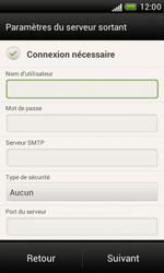 HTC Desire X - E-mail - Configuration manuelle - Étape 12