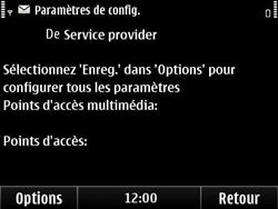 Nokia E6-00 - MMS - configuration automatique - Étape 7