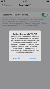 Apple iPhone 8 Plus - iOS 13 - WiFi - Activez WiFi Calling - Étape 7