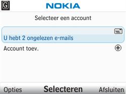 Nokia C3-00 - E-mail - E-mails verzenden - Stap 4