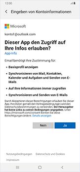Samsung Galaxy A50 - E-Mail - Konto einrichten (outlook) - Schritt 9