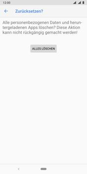 Nokia 9 - Fehlerbehebung - Handy zurücksetzen - Schritt 11