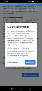 Huawei Y6 (2019) - Applications - Créer un compte - Étape 15