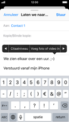Apple iPhone SE - iOS 11 - E-mail - E-mails verzenden - Stap 10