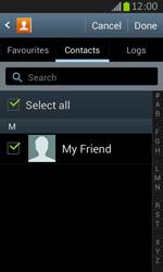 Samsung S7710 Galaxy Xcover 2 - E-mail - Sending emails - Step 7