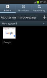 Samsung I8190 Galaxy S III Mini - Internet - Navigation sur Internet - Étape 9