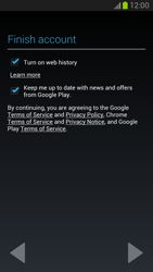 Samsung Galaxy Note II - Applications - Setting up the application store - Step 11