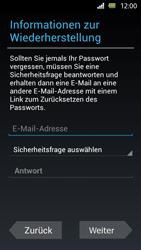 Sony Xperia U - Apps - Einrichten des App Stores - Schritt 9