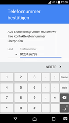 Sony Xperia XA - Apps - Einrichten des App Stores - Schritt 8