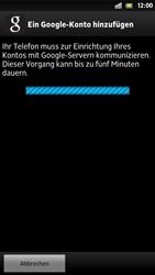 Sony Xperia S - Apps - Konto anlegen und einrichten - 17 / 21