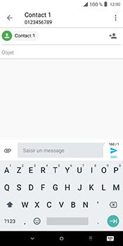 Alcatel 3L - Contact, Appels, SMS/MMS - Envoyer un MMS - Étape 12