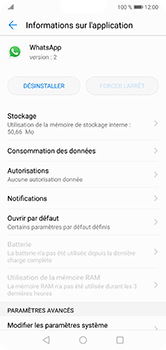 Huawei P20 lite - Applications - Supprimer une application - Étape 6