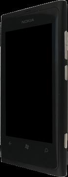 Nokia Lumia 800 - Premiers pas - Découvrir les touches principales - Étape 6