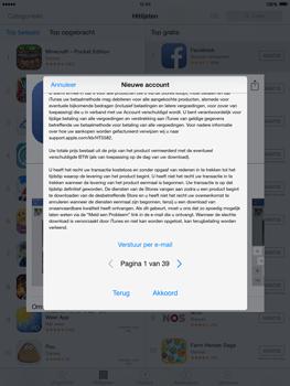 Apple iPad mini iOS 8 - Applicaties - Account aanmaken - Stap 10