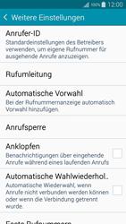 Samsung Galaxy A5 - Anrufe - Rufumleitungen setzen und löschen - 7 / 12
