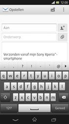 Sony C6603 Xperia Z - e-mail - hoe te versturen - stap 5