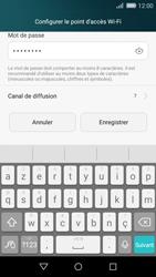 Huawei P8 Lite - Internet et connexion - Partager votre connexion en Wi-Fi - Étape 8