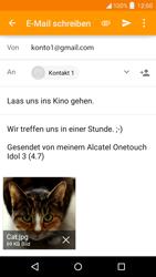 "Alcatel Idol 3 - 4.7"" - E-Mail - E-Mail versenden - 15 / 17"
