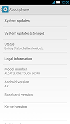 Alcatel One Touch Idol S - Software - installing software updates - Step 6