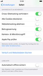 Apple iPhone 8 - iOS 11 - Neue Datenschutz- und Sicherheitsfunktionen für Safari aktivieren - 0 / 0