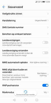Huawei P Smart (Model FIG-LX1) - SMS - SMS-centrale instellen - Stap 6