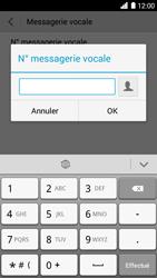 Huawei Ascend G6 - Messagerie vocale - Configuration manuelle - Étape 8