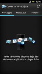 Sony Xperia U - Logiciels - Installation de mises à jour - Étape 7