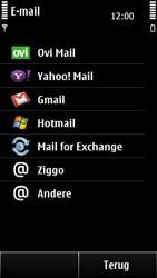 Nokia 500 - E-mail - e-mail instellen: POP3 - Stap 7
