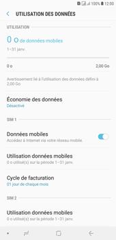 Samsung Galaxy J4+ - Internet et connexion - Désactiver la connexion Internet - Étape 6