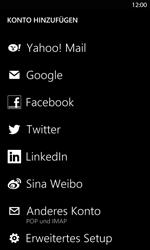 Nokia Lumia 820 LTE - E-Mail - Konto einrichten - Schritt 6