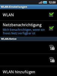 Samsung S5570 Galaxy Mini - WLAN - Manuelle Konfiguration - Schritt 7