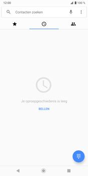 Sony Xperia XZ3 - Voicemail - Handmatig instellen - Stap 4