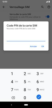Google Pixel 3a - Sécuriser votre mobile - Personnaliser le code PIN de votre carte SIM - Étape 9