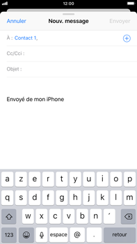 Apple iPhone 8 Plus - iOS 12 - E-mail - envoyer un e-mail - Étape 5
