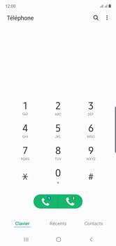 Samsung Galaxy Note10 - Messagerie vocale - Configuration manuelle - Étape 4